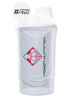 SHAKER BLANC POWER NUTRITION POWER NUTRITION Shakers & Gourdes  Power Nutrition