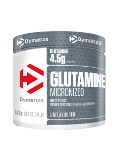 100% PURE L-GLUTAMINE DYMATIZE DYMATIZE Glutamine Power Nutrition