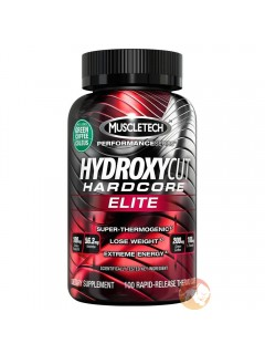 HYDROXYCUT HARDCORE ELITE MUSCLETECH 110 GELULES MUSCLETECH Brûleurs de graisse Power Nutrition