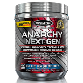 ANARCHY NEXT GEN MUSCLETECH MUSCLETECH Energie & Concentration Power Nutrition