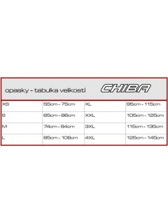 CEINTURE NYLON PERFORMER CHIBA CHIBA Accessoires Training Power Nutrition
