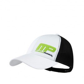 CASQUETTE FLAGSHIP MUSCLEPHARM WHITE MUSCLEPHARM Accessoires Power Nutrition