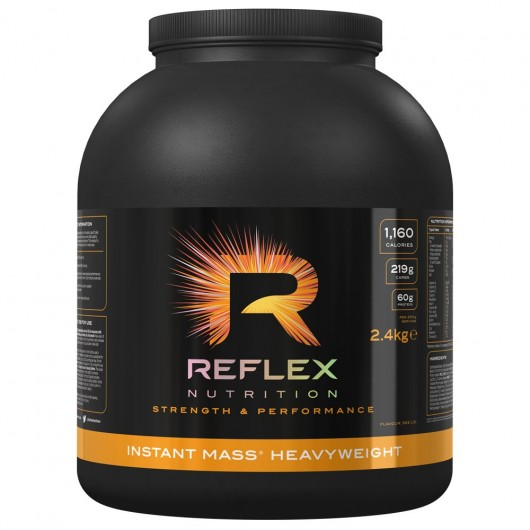 INSTANT MASS HEAVYWEIGHT REFLEX 2KG REFLEX NUTRITION Gainers Power Nutrition