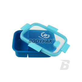 BOITE DUAL BOX 0,6L + 0,3L BODYPAK Food Box & Sacs de Sport Power Nutrition