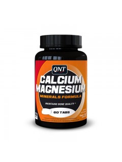 CALCIUM MAGNESIUM QNT 60 COMPRIMES QNT  Vitamines et minéraux Power Nutrition