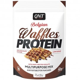 WAFFLES PROTEIN QNT 480g QNT  Collations Protéinées Power Nutrition