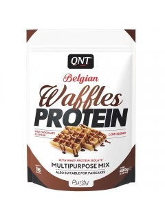 WAFFLES PROTEIN QNT 480g QNT  Collations Protéinées Power Nutrition
