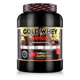 GOLD WHEY 2.0 IMPACT NUTRITION 1kg IMPACT NUTRITION Whey Protéine Power Nutrition