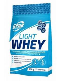 LIGHT WHEY 6 PAK NUTRITION 700g 6PAK NUTRITION Whey Protéine Power Nutrition