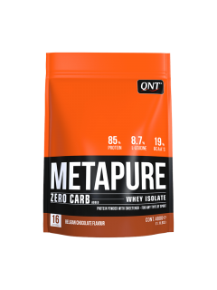 METAPURE ZERO QNT 480g QNT  Whey Protéine Isolate Power Nutrition