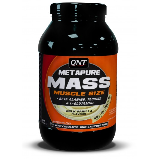 METAPURE MASS QNT 2,5kg QNT  Gainers Power Nutrition