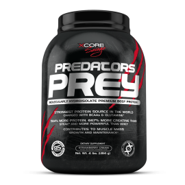 PREDATORS PREY XCORE SAVAGE 1,8kg XCORE NUTRITION Protéines Œuf & Bœuf Power Nutrition