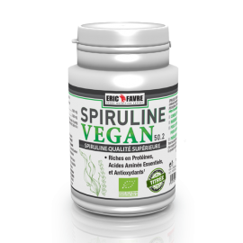 SPIRULINE VEGAN ERIC FAVRE ERIC FAVRE NUTRITION Super-aliments Power Nutrition