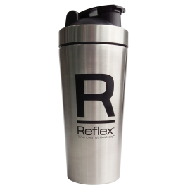 STAINLESS STEEL SHAKER REFLEX 750ml REFLEX NUTRITION Shakers & Gourdes  Power Nutrition