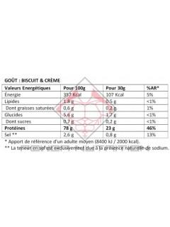 100% PROTEINE BLANC OEUF INSTANT OVOWHITE 2,5kg OVOWHITE Protéines Œuf & Bœuf Power Nutrition
