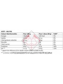 PROTEINE BLANC OEUF INSTANT OVOWHITE 453g OVOWHITE Protéines Œuf & Bœuf Power Nutrition