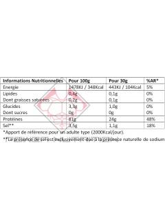100% PROTÉINE DE BLANC D'ŒUF BIO OVOWHITE OVOWHITE Protéines Œuf & Bœuf Power Nutrition