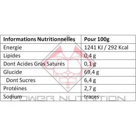 BAIE DE GOJI GO NUTRITION™ 400g GO NUTRITION Fruits secs & oléagineux Power Nutrition