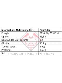 NOIX DE CAJOU GO NUTRITION™ 400g GO NUTRITION Fruits secs & oléagineux Power Nutrition
