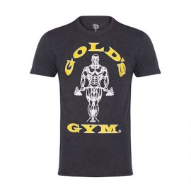 T SHIRT MUSCLE JOE GOLD'S GYM GRIS GOLD'S GEAR Hommes Power Nutrition