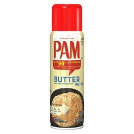 PAM BUTTER SPRAY PAM Huiles & Beurres de Noix Power Nutrition