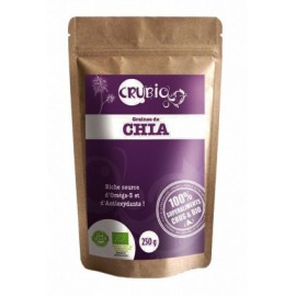 GRAINES DE CHIA CRUBIO CRUBIO Super-aliments Power Nutrition