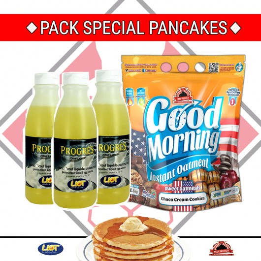 PACK SPECIAL PANCAKES 1 MOIS PACK SPECIAL PWN Pancakes Power Nutrition