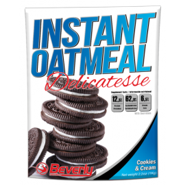 INSTANT OATMEAL DELICATESSE BEVERLY BEVERLY NUTRITION Avoine instantanée Power Nutrition