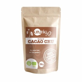 POUDRE CACAO BIO CRUBIO 250g CRUBIO Super-aliments Power Nutrition