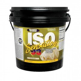 ISO SENSATION 93 ULTIMATE NUTRITION 2,268kg ULTIMATE NUTRITION Whey Protéine Isolate Power Nutrition