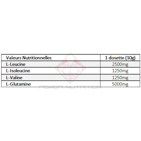 BCAA + GLUTAMINE OSTROVIT OSTROVIT BCAA  Power Nutrition