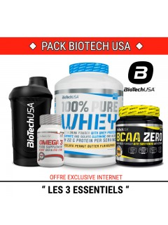 PACK ESSENTIEL BIOTECH USA PACK SPECIAL PWN Packs Power Nutrition