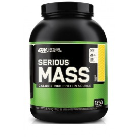 SERIOUS MASS OPTIMUM NUTRITION 2,7KG OPTIMUM NUTRITION Gainers Power Nutrition