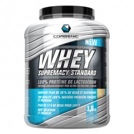 WHEY SUPREMACY CORGENIC 1,6KG CORGENIC Whey Protéine Power Nutrition