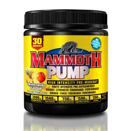 MAMMOTH PUMP 30 DOSES INTERACTIVE NUTRITION Congestion & Volume Power Nutrition