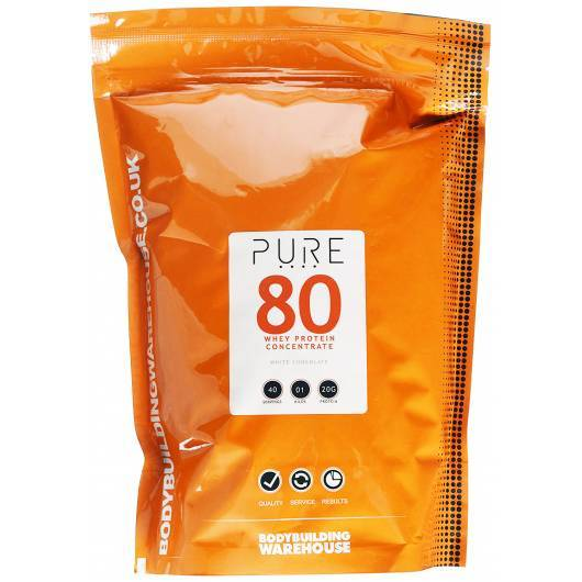 PURE WHEY WPC 80 BBW 2KG BODYBUILDING WAREHOUSE (BBW) Whey Protéine Power Nutrition