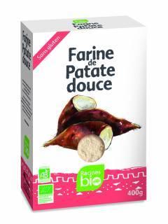 FARINE PATATE DOUCE BIO RACINES 400g RACINES BIO Farines Power Nutrition