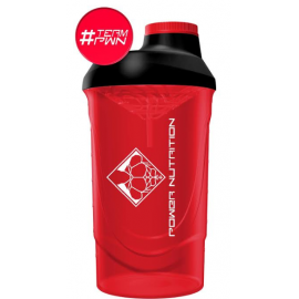 SHAKER ROUGE & NOIR POWER NUTRITION POWER NUTRITION Shakers & Gourdes  Power Nutrition