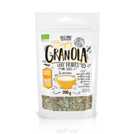 GRANOLA BIO DIET FOOD 200g DIET FOOD Petit déjeuner et collations Power Nutrition