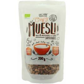 MUESLI BIO DIET FOOD 200g DIET FOOD Petit déjeuner et collations Power Nutrition