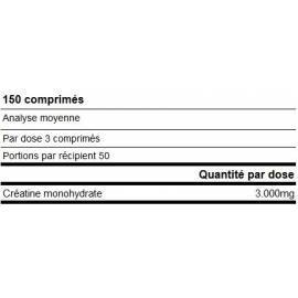 CREATINE PRO CREAPURE® 150 COMPRIMES YAMAMOTO NUTRITION Creatine Power Nutrition