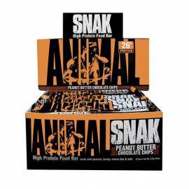 ANIMAL SNAK BOITE DE 12 ANIMAL by Universal Nutrition Barres protéinées Power Nutrition
