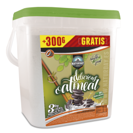 AVOINE INSTANT DELICIOUS OATMEAL NATURDAY 3kg NATURDAY Avoine instantanée Power Nutrition