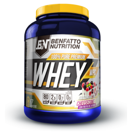 100% PURE PREMIUM WHEY BENFATTO NUTRITION BENFATTO NUTRITION Whey Protéine Power Nutrition