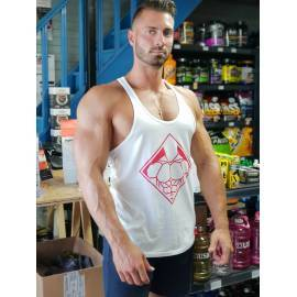 STRINGER BLANC TEAM PWN POWER NUTRITION Hauts Power Nutrition