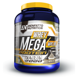 WHEY MEGA PROTEIN BENFATTO NUTRITION BENFATTO NUTRITION Whey Protéine Power Nutrition