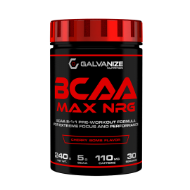 BCAA MAX NRG GALVANIZE NUTRITION 240G