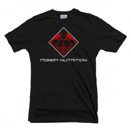 TEE SHIRT NOIR POWER NUTRITION POWER NUTRITION Hommes Power Nutrition