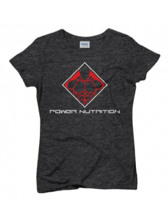 TEE SHIRT FEMME GRIS POWER NUTRITION POWER NUTRITION Femmes Power Nutrition