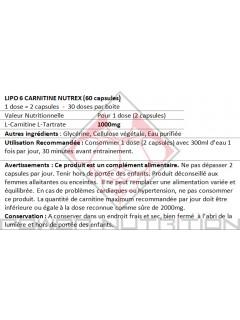 LIPO-6 CARNITINE NUTREX NUTREX Carnitine Power Nutrition